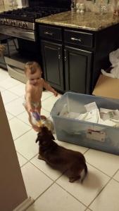 Betty helping