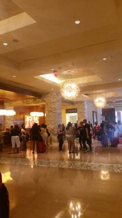 Hyatt Hotel Lobby