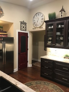 Pantry door Kitchen